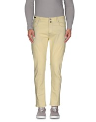 Pt05 Denim Denim Trousers Men Light Yellow