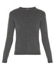 Valentino Rockstud Crew Neck Sweater Grey