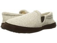 Acorn Fave Gore Grey Ragg Wool Slippers Gray