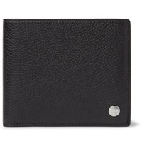 Dunhill Boston Full Grain Leather Billfold Wallet Black