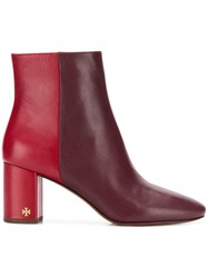 Tory Burch Brooke Boots Red