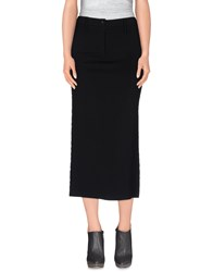 Cristinaeffe Skirts 3 4 Length Skirts Women Black