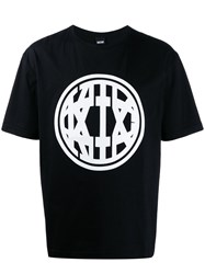 Ktz Printed Logo T Shirt Black