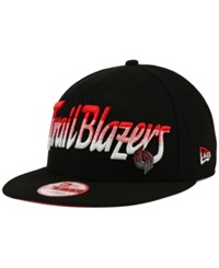 New Era Portland Trail Blazers Fade To Script 9Fifty Snapback Cap