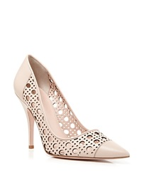 Kate Spade New York Perforated Pumps Lizette High Heel Petal Pink