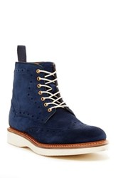 Oliver Sweeney Walberswick Suede Boot Blue