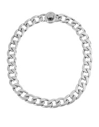 Kenneth Cole Chain Link Necklace Silver