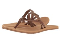 Freewaters Ana Brown Tan Women's Sandals