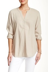 Tommy Bahama Florence Stretch Linen Blend Tunic Beige