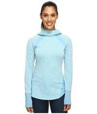 Marmot Jayme Hoodie Turkish Tile Women's Sweatshirt Blue
