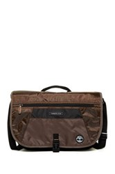 Timberland Route 4 17' Messenger Bag Brown