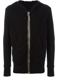 Rta Zip Up Hoodie Black