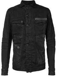 11 By Boris Bidjan Saberi Denim Jacket Black