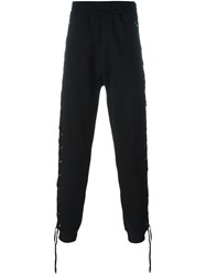 Faith Connexion Lace Detail Sweatpants Black