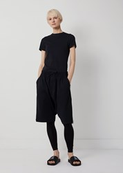 Y 3 Stripes Track Shorts Black