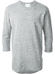 G Star Raw By Marc Newson Cropped Sleeve Sweater