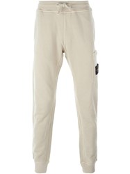 Stone Island Slim Track Pants Nude And Neutrals