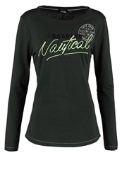 Gaastra Long Sleeved Top Pine Green Dark Green