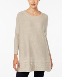 Styleandco. Style Co. Petite Textured Sweater Only At Macy's Hammock Heather