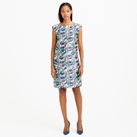 J.Crew Collection Water Lily Floral Dress