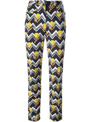 Jc De Castelbajac Vintage 'Tweetie Pie' Printed Trousers Multicolour