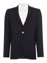 Paul Smith Men's Ps By Navy Blazer With Metal Buttons Navy