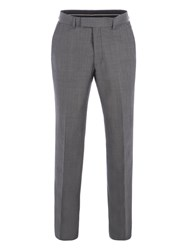Pierre Cardin Men's Arthur Grey Tonic Performance Trousers Grey