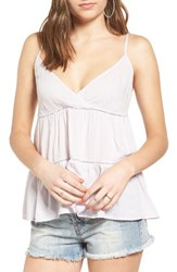 Sun And Shadow Women's Tiered Camisole