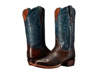 Lucchese Brock Pearwood Tan Cowboy Boots Brown