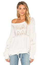 Wildfox Couture Addie Sweater Ivory