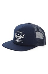 Herschel Women's Supply Co. Whaler Mesh Snapback Cap Blue Navy