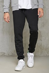 Forever 21 Contrast Zip Front Joggers