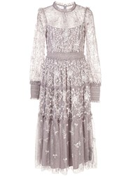 Needle And Thread Floral Embroidered Midi Dress 60