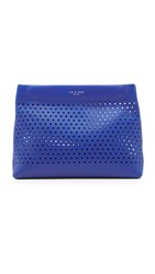 Rag And Bone Perforated Camden Pouch Cobalt