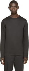 Alexander Wang Black Structured Pullover