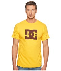 Dc Star S S Tee Old Gold T Shirt