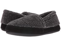 Tempur Pedic Stratus 2 Carbon Men's Slippers Gray