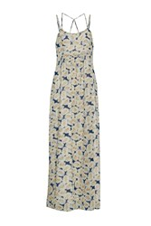 Great Plains Vintage Bloom Printed Maxi Dress Yellow