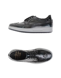 Barracuda Lace Up Shoes Steel Grey
