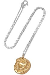 Alighieri The Scattered Decade Gold Plated And Silver Necklace One Size