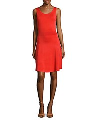 Sandro Rodic Sleeveless Dress Red