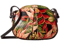 Patricia Nash Chania Crossbody Cuban Tropical Black Cross Body Handbags Multi