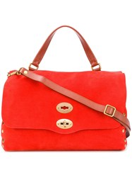 Zanellato Pompeia Shoulder Bag Red