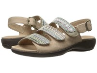 Trotters Kendra Sand Sand Multi Women's Sandals Gray