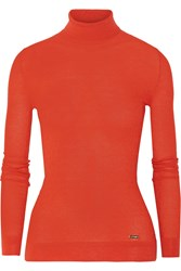 Just Cavalli Wool Blend Turtleneck Sweater