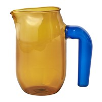 Hay Jochen Holz Glass Jug Amber Small