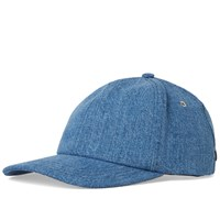 Ami Alexandre Mattiussi Light Denim Cap Blue