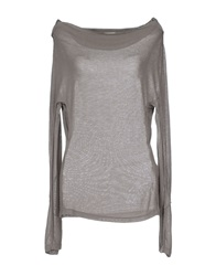 Malloni Sweaters Grey