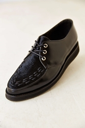 Caminando Two Tone Billy Shoe Black