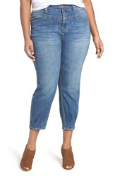 Melissa Mccarthy Seven7 Plus Size Women's High Rise Stretch Girlfriend Jeans